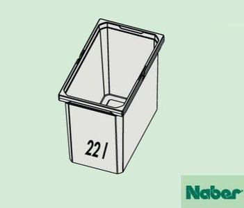 Naber Cox Box 22 liter emmer